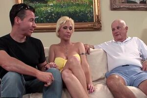 Mature Unexperienced Fucked Into Ass as Hubby Observes