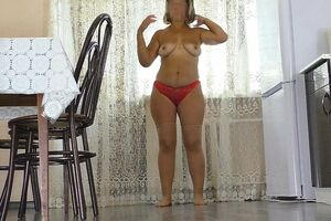 Step wife took a juicy hard-on in her facehole and gave her nut sack